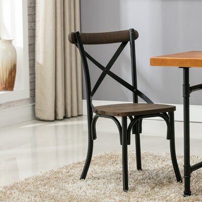 Rustic French Dining Chairs erikc french rustic fininghouse solid wood dining chair & reviews
