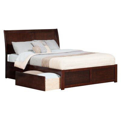andover mills winstead traditional storage platform bed reviews wayfair - Mattress And Bed Frame