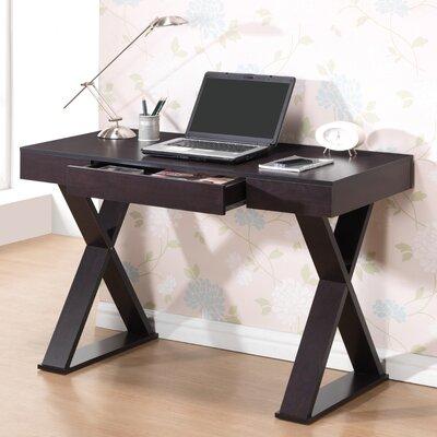ebern designs cabrera trendy writing desk reviews wayfair - Designer Writing Desk