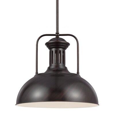 sea gull lighting beacon street 1light inverted pendant u0026 reviews wayfair - Sea Gull Lighting