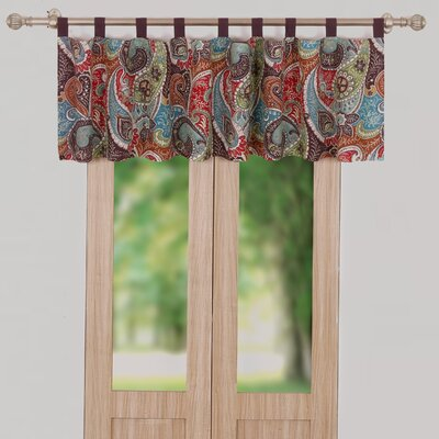greenland home fashions tivoli window curtain valance u0026 reviews wayfair - Greenland Home Fashions