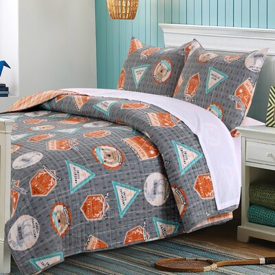 greenland home fashions camp out reversible quilt set u0026 reviews wayfair - Greenland Home Fashions