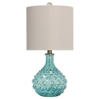 Highland dunes oshaughnessy bubble glass 20 table lamp reviews wayfair