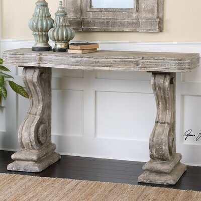 Great Uttermost Partemio Distressed Console Table U0026 Reviews | Wayfair