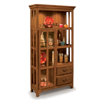 Philip Reinisch Co. ColorTime Lighted Curio Cabinet U0026 Reviews | Wayfair