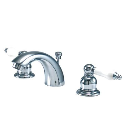 elements of design elizabeth mini widespread bathroom faucet with