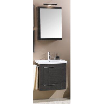 """iottinameeks simple 23"""" single wall mounted bathroom vanity"""