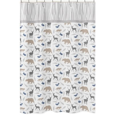 Sweet Jojo Designs Woodland Animals Shower Curtain U0026 Reviews | Wayfair