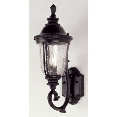 Three Posts Ehrhardt 1 Light Outdoor Sconce U0026 Reviews | Wayfair