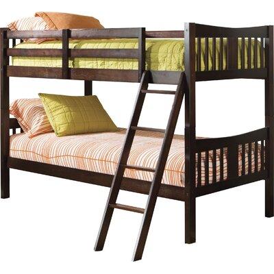 storkcraft caribou twin bunk bed & reviews | wayfair
