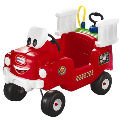 little tikes spray and rescue push fire truck & reviews | wayfair