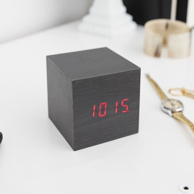 Kikkerland Clap On Cube Alarm Tabletop Clock U0026 Reviews | Wayfair