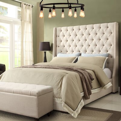 Diamond Sofa Park Avenue Upholstered Platform Bed U0026 Reviews | Wayfair