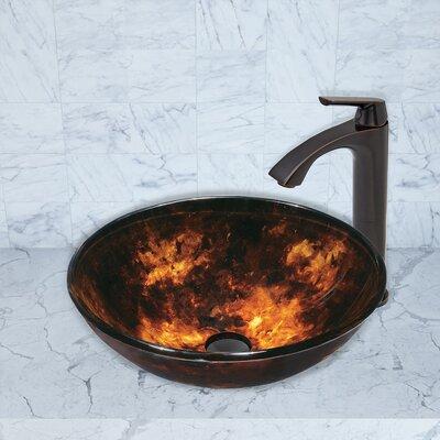 Vigo Bathroom Faucets vigo linus single lever vessel bathroom faucet with pop up