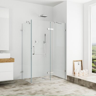 frameless shower enclosure u0026 reviews wayfair