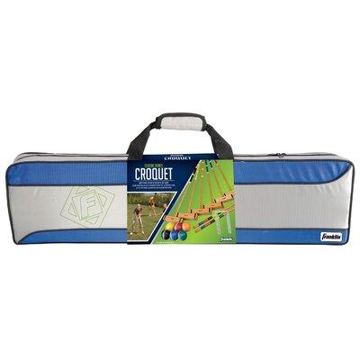 franklin sports classic 23 piece 6 player croquet set u0026 reviews wayfair - Croquet Set
