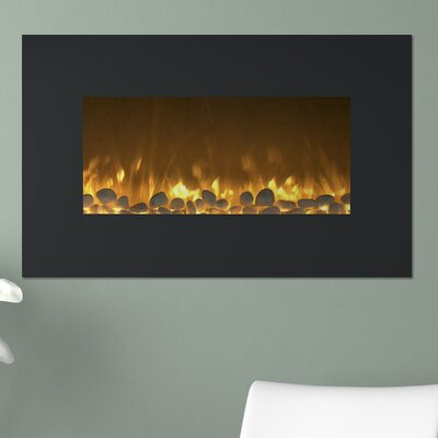 Northwest Flat Wall Mount Electric Fireplace & Reviews | Wayfair