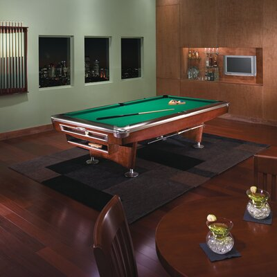 Brunswick Billiards Gold Crown V Billiard 9u0027 Pool Table | Wayfair