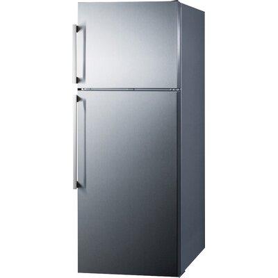 Summit Appliance Summit Thin Line 12.6 cu. ft. Counter Depth Top ...