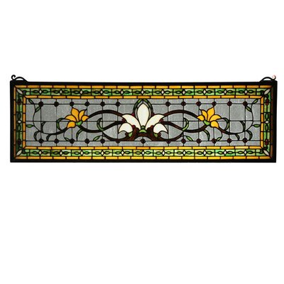 meyda tiffany fairytale transom stained glass window u0026 reviews wayfair - Meyda Tiffany