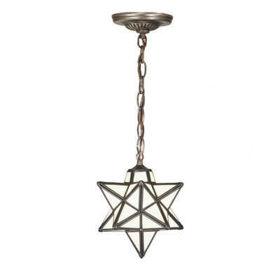 Meyda tiffany moravian star 1 light mini pendant reviews wayfair aloadofball Image collections