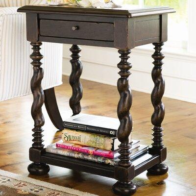 Paula Deen Home Sweet Tea End Table With Storage U0026 Reviews   Wayfair