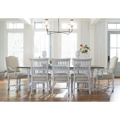 paula deen home dogwood extendable dining table & reviews | wayfair