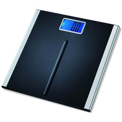eatsmart precision premium digital bathroom scale in black