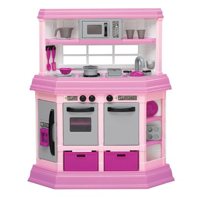 Play Kitchen Set american plastic toys 22 piece cook and play kitchen set & reviews