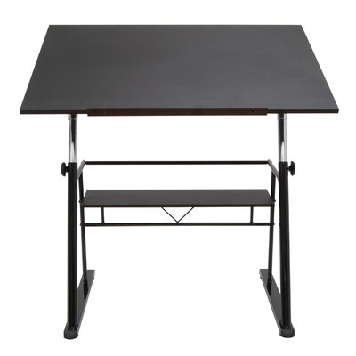 studio designs zenith drafting table & reviews | wayfair