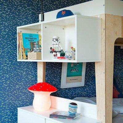 perch bunk bed shelf & reviews | allmodern
