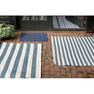 Dash and Albert Rugs Indoor/Outdoor Blue Outdoor Area Rug ...