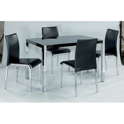 Home Zone Furniture Dining Table And 4 Chairs Reviews
