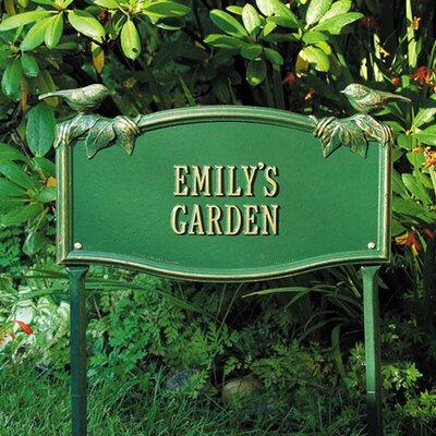 whitehall products chickadee standard garden garden sign u0026 reviews wayfair - Whitehall Products