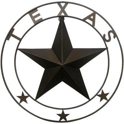 Texas Star Wall Decor leighcountry double ringed texas star wall décor & reviews | wayfair