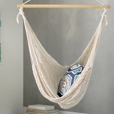 deserted beach hand woven cotton chair hammock  u0026 reviews   allmodern  rh   allmodern