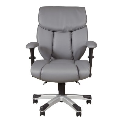 sealy memory foam high-back desk chair & reviews | wayfair