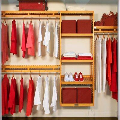 John Louis Home Closet System U0026 Reviews | Wayfair