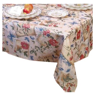 Violet Linen European Garden Tablecloth U0026 Reviews | Wayfair