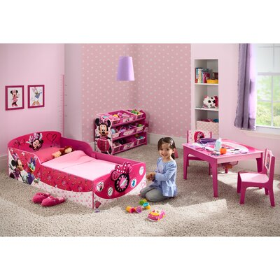 Delta Children Minnie Mouse Toddler Bed & Reviews | Wayfair
