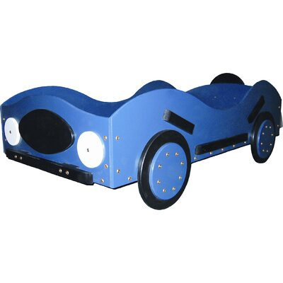 Just Kids Stuff New Style Race Toddler Car Bed Reviews Wayfair