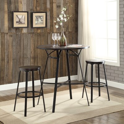 ACME Furniture Dora 3 Piece Pub Table Set U0026 Reviews | Wayfair