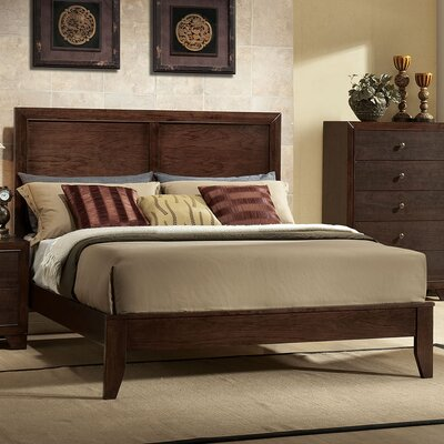 madison panel bed - Mahogany Bed Frame