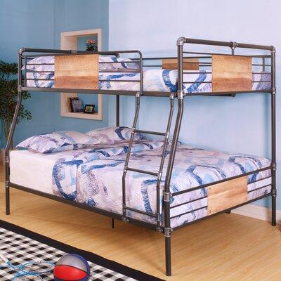 acme furniture brantley twin xl over queen bunk bed u0026 reviews wayfair