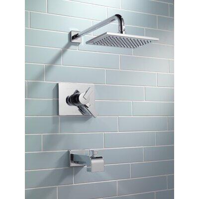Delta Vero Volume Control Tub And Shower Faucet Trim With Lever Handles Reviews Wayfair