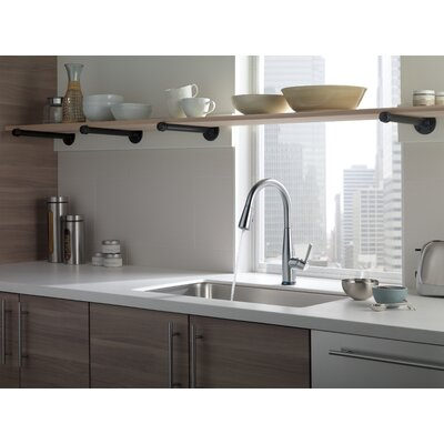 Delta Essa Single Handle Pull Down Standard Kitchen Faucet with Touch2Ou0026reg;