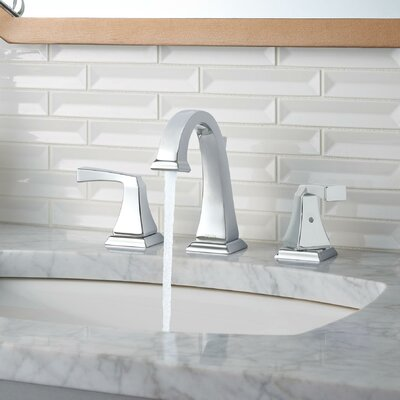 Delta Dryden™ Widespread Bathroom Faucet With Drain Assembly And Diamond  Seal Technology U0026 Reviews | Wayfair
