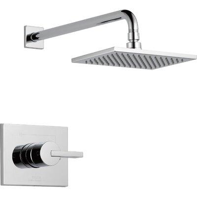 delta vero diverter shower faucet trim with lever handles u0026 reviews wayfair