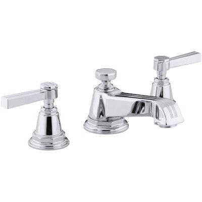K-13132-4B-BN,CP,SN Kohler Pinstripe Widespread Bathroom Faucet with ...