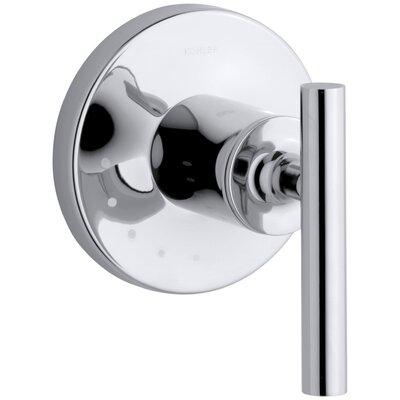 kohler purist valve trim with lever handle for volume control valve u0026 reviews wayfair - Kohler Purist